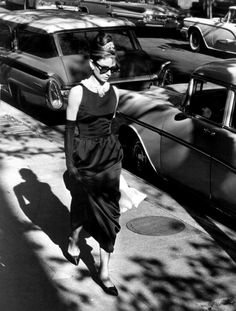 Audrey Hepburn in Breakfast at Tiffany's (1961, dir. Blake Edwards)