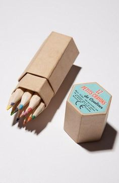 Let's color! Petits Crayons de Couleur Colored Pencils by Marc Vidal
