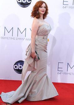 Christian Siriano. Actress Christina Hendricks