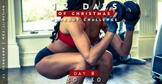 This workout is going to be punishing, but thankfully it won't hit the same muscles you worked yesterday! Day 7 was focused on your chest, back, biceps, an