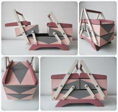 Boîte à couture rétro rénovée par *Tadaam!