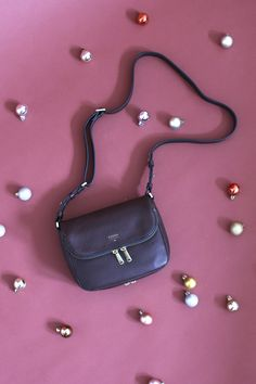 Gift Curiously // @Fossil // Preston Flap Bag