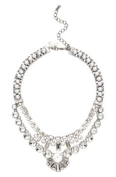 kate spade new york 'clink of ice' multilayered necklace available at #Nordstrom