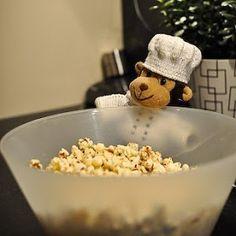 Mat med Monkis: Slik lager du perfekte popcorn