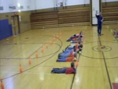"games - battle ballwe play a variation called ""battleship"" great game for throwing and aiming Physical Education Activities, Elementary Physical Education, Elementary Pe, Pe Activities, Health And Physical Education, Pe Class, Pe Teachers, Pe Ideas, Gym Games"
