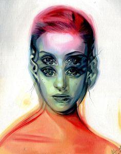 Painting gallery by Alex Garant Canadian pop art surrealist artist.