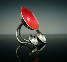 Chrissy Cook, three dome ring
