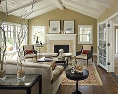 Vibes Timeless Traditional | Pure Home » Would love to do these ceilings in my upstairs.