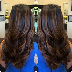 Hair by Natalie D. #balayage #balaygehighlights #hairpainting