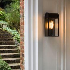 Newbury buitenlamp zwart helder glas makkelijk bestellen | FOIR.NL!
