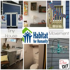 Tiny House Movement. Do you think you could live in a 220 sq. ft. house? #DivaofDIY Article: