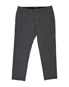 The Double Weave Wool Blend Cropped Chinos From Alchemy Equipment Are Perfect In Office