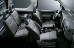 Interior do Suzuki Jimny