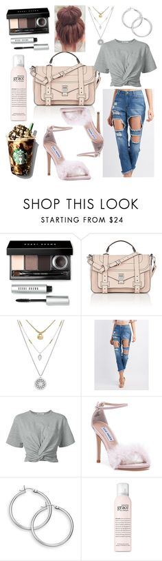 """""""casual"""" by tlphil ❤ liked on Polyvore featuring Bobbi Brown Cosmetics, Proenza Schouler, Lucky Brand, Charlotte Russe, T By Alexander Wang, Steve Madden and philosophy"""