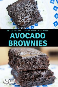 Flourless Avocado Brownies that are fudgey chocola&; Flourless Avocado Brownies that are fudgey chocola&; Annah Kate LYAWAK Deceptively Decadent Flourless Avocado Brownies that are fudgey chocolatey goodness. Avocado Brownies, Keto Brownies, Avocado Cookies, Sugar Free Brownies, Keto Fudge, Healthy Brownies, Gluten Free Brownies, Keto Friendly Desserts, Low Carb Desserts