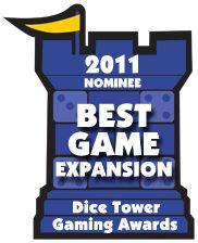 Ticket to Ride Asia and Small World Underground were both nominated for 2011 Dice Tower Awards for Best Game Expansion... and Ticket to Ride also earned a nomination for Best Digital Board game.   http://www.dicetower.com/dice_tower_awards/2011-awards.html