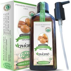 Avíanō Botanicals Moroccan Argan Oil, 100ml / 3.4 oz Bottle >>> Check out the image by visiting the link.