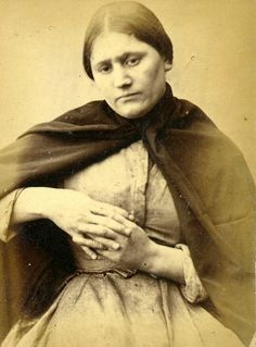 This is the face of a woman who stole a chicken. Mary Patterson was sentenced to six weeks in jail in 1873 for theft of poultry.