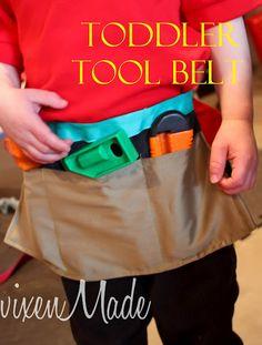 I want to make one that looks more like a real tool belt. But this pic has inspired me! My next project.... (whenever I get to it that is.....)