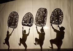 Indochina Passion: Sbaek - Cambodian Shadow Puppet Theatre