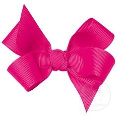 Mini Classic Grosgrain Upside-Down Hair Bow (Knot Wrap) $6.50 #bows #hair