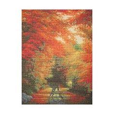 Beautiful Autumn Cross stitch