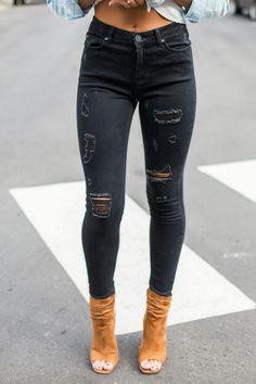 81 Ideas De Jeans Rotos Jeans Rotos Ropa Moda