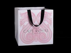 Pentagram redefine la imagen del Café Royal en Londres