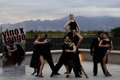 Nuestro  Ballet municipal en una muestra de Vino por Tango