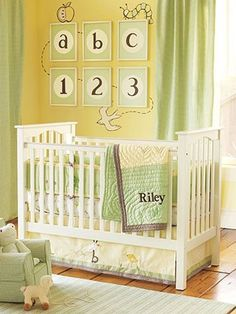 neutral baby nursery ideas | gender neutral nurseries nursery ideas slideshow repinned from nursery ...