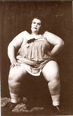 the circus fat lady
