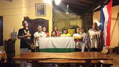 Omar Hernandez interpretando el Himno por el Día de la Antioqueñidad...