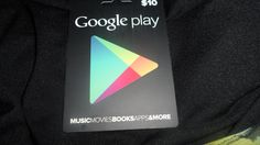 $10 Google Play Gift Card/GIN/3 Days Only