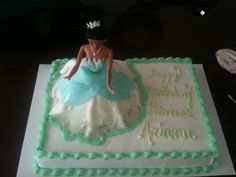 Princess and the Frog By ms_mba on CakeCentral.com