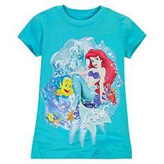 Cadence's Ariel shirt for Halloween