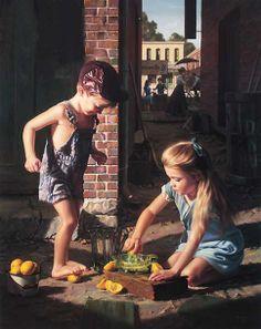 """Bob Byerley (1941, American) """"Add Water And Stir"""""""