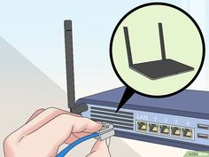 How to Connect Two Routers. This wikiHow teaches you how to connect two routers together. By connecting your routers, you can extend both the range and the maximum number of connections that your Internet can handle. Computer Router, Internet Router, Computer Help, Modem Router, Computer Security, Wireless Router, Wifi Router, Sem Internet, Computer Projects