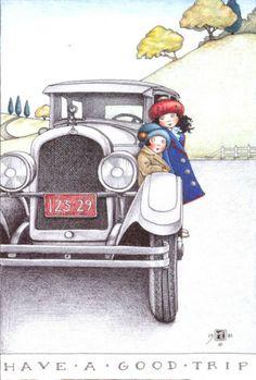 Have a good trip - Mary Englebreit.