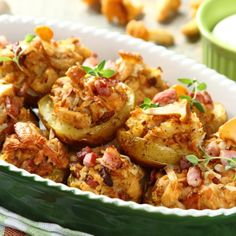 Baked Potato, Potato Salad, Cauliflower, Main Dishes, Grilling, Food And Drink, Cooking Recipes, Tasty, Chicken