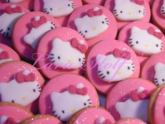hello kitty cookies | Bolachas Hello Kitty/ Hello Kitty Cookies