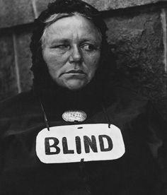 Paul Strand: Blind; 1916
