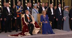 Hawaiian Royal Family | Highlights From The Inauguration of His Majesty King Willem-Alexander ...