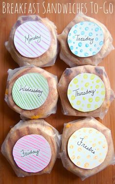Project Preparation: Healthy Breakfast Sandwiches To-Go All Week Long! (all natural & better than the box kind with all the unpronounceable ingredients
