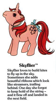 My Little Pony Skyflier fact file ...
