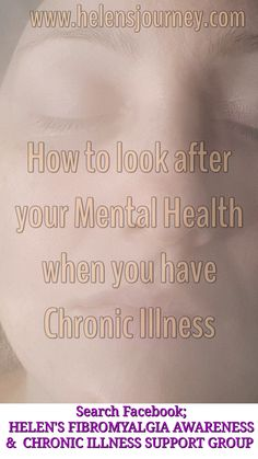 Click to read a list of ways we can look after our mental health, esp if we suffer from chronic illness! #mentalhealthhelp #mentalhealth #chronicillness #chronicpain #spoonies #worldmentalhealthday #WMHD #fibromyalgiaandmentalhealth #mentalhealthresources Mental Health Foundation, Mental Health Help, Chronic Illness, Chronic Pain, Fibromyalgia, Relaxation Exercises, Facebook Support, Self Love Affirmations, Thing 1