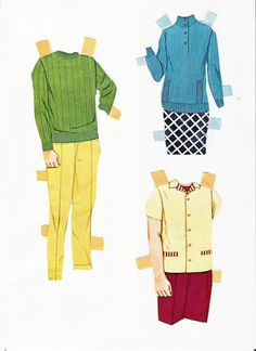 Paper Dolls~1968 Bride and Groom - Bonnie Jones - Picasa Web Albums