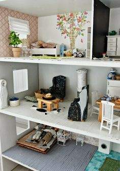 Cute dollhouse furniture ideas