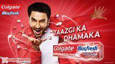 Taazgi Ka Dhamaka! Colgate max fresh buy now