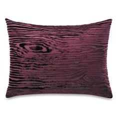 The Tallulah Collection by Kevin O' Brien Khaya Oblong Toss Pillow in Wood Grain - BedBathandBeyond.com