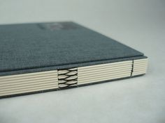 Link stitch binding covered in Stone grey bookcloth, black thread, recessed label in front and black foil blocked title. Portfolio Review, Journal Covers, Book Binding, Letterpress, Book Design, Book Art, Print Design, Journaling, Photo Galleries